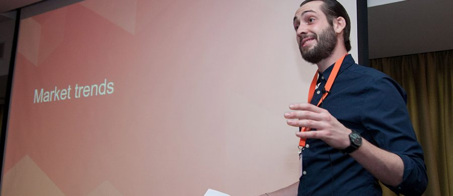 Vincent Brach, Magento ομιλητής Meet Magento GR 2016