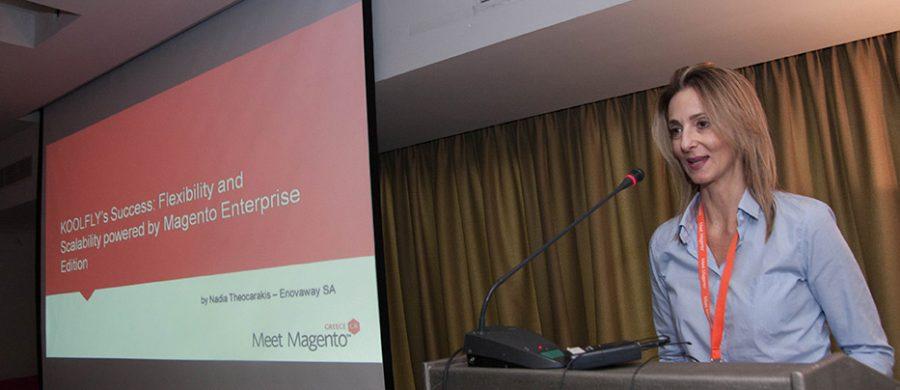 Νάντια Θεοχαράκη CEO Koolfly, Meet Magento GR 2016