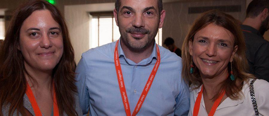 Στέλιος Πετρίδης Γενικός Διευθυντής Converge, Μαρίνα Βασιλαρά e-Business Director Apivita, Meet Magento GR 2016