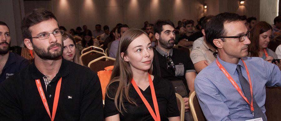 Carmen Oprea της Socital και Σοφοκλής Κυριαζάκος Meet Magento GR 2016